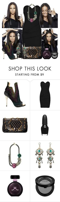 """alicia keys"" by cindy88 ❤ liked on Polyvore featuring moda, Giuseppe Zanotti, Preen, Temperley London, Sephora Collection, SHOUROUK, Lanvin, women's clothing, women y female"