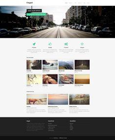 Elegant Free Responsive Business WordPress Theme
