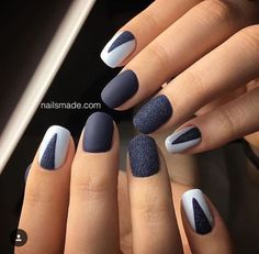 What you need to know about acrylic nails - My Nails Fabulous Nails, Gorgeous Nails, Cute Nails, Pretty Nails, Navy Nails, Nail Accessories, Stylish Nails, Nails Inspiration, How To Do Nails