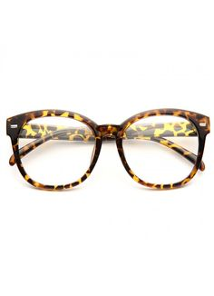 097b991658 Arpin Oversized Round Clear Glasses. Lenses. Cosmic Eyewear
