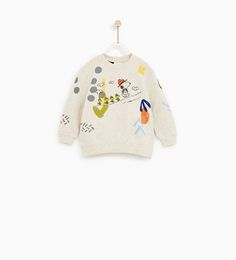 Discover the new ZARA collection online. The latest trends for Woman, Man, Kids and next season's ad campaigns. Toddler Boy Fashion, Toddler Outfits, Toddler Boys, Boy Outfits, Fashion Outfits, Baby Snoopy, Sweat Shirt, Cute Boys, Cute Babies