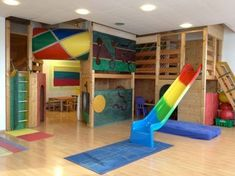 Stunning Basement Playroom Decorating Ideas 55