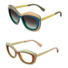 From Fendi's Spring/Summer 2014 Eyewear Collection. #Fendi #Eyewear #Sunglasses