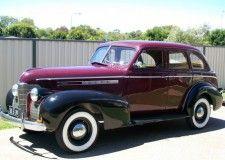 1949 vauxhall australian body velox .