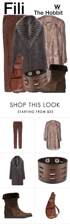 """""""The Hobbit"""" by wearwhatyouwatch ❤ liked on Polyvore featuring Emilio Pucci, SCERVINO STREET, Manzoni 24, Nemesis, Salvatore Ferragamo, SHARO, wearwhatyouwatch and film"""