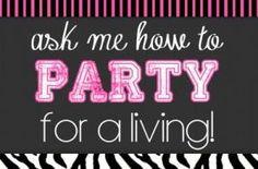 Ask me how to party for a living... http://AlejandraSantiago.PureRomance.com