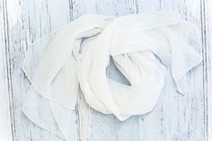 White Scarf, Boudoir Acecssories, Wardrobe White Scarves, Boudoir Photography, Hair Pieces, Accessories, Jewelry, Hair Extensions, Jewels, Hair Weaves, Schmuck