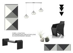 """♥"" by macopa ❤ liked on Polyvore featuring interior, interiors, interior design, home, home decor, interior decorating, ELK Lighting and Americanflat"