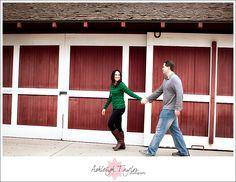 A recent engagement photo session at Rancho La Patera & Stow House by photographer Ashleigh Taylor.
