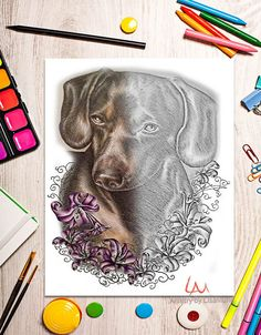 Printable coloring page Adult Coloring Page Instant download