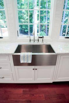 Dennis Kitchen Addition & Renovation - kitchen sinks - atlanta - Highlight Homes, LLC