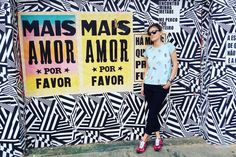 Mais amor por favor  #saldeflor #lookdavidareal