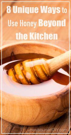 8 Unique Ways to Use Honey Beyond the Kitchen   www.healyourselfDIY.com