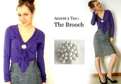 Katie's Modest Style Blog: One Brooch Is All You Need!