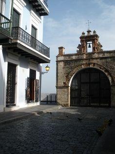Entrada del Parque de las Palomas en San Juan, PR
