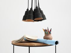 Lampa czarna, styl skandynawski, industrialny. Modern, Industrial, Ceiling Lights, Lighting, Design, Black, Decoration, Home Decor, Products