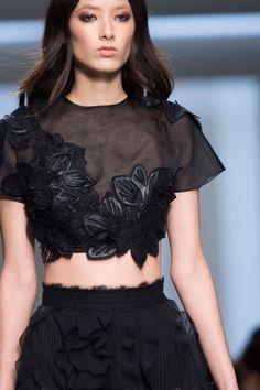 """forlikeminded: """"  Ermanno Scervino - Milan Fashion Week / Spring 2016 """""""