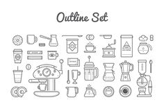 Awesome Coffee Icons and Logo Set by Ckybe's Corner on Creative Market