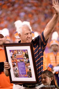Clemson coaching legend Danny Ford honored at the Clemson vs Georgia 2013 season opener | TigerNet