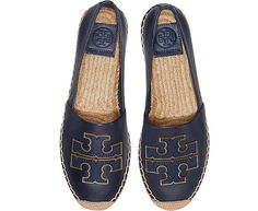 bddf5718a911a7 Tory Burch Perfect Navy Ines Espadrilles