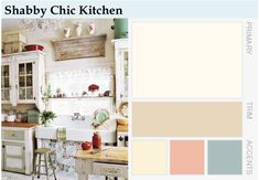February Style Week: Decorating a Shabby Chic Kitchen   Pure Inspiration