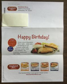 Free Sandwich Bros. Sandwich #freestuff #freebies #samples #free