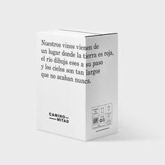 Packaging Ideas Discover Camino Mitad Camino Mitad on Packaging of the World - Creative Package Design Gallery Candle Packaging, Wine Packaging, Food Packaging Design, Packaging Design Inspiration, Brand Packaging, Coffee Packaging, Packaging Ideas, Skincare Packaging, Cosmetic Packaging