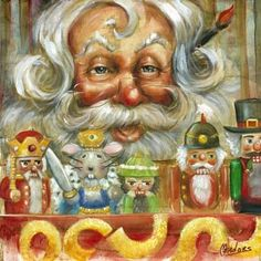 Nutcracker Santa | Celia Meadors Art - Amarillo, Texas