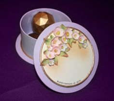 Sugar Box with Chocolate Truffles