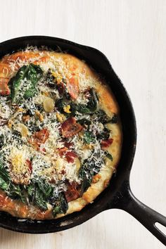 Why You Should Cook Your Pizza in a Cast-Iron Skillet