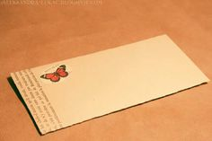 These DIY envelopes are enough to make you want to write a letter or want to receive one!