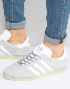 adidas Originals Gazelle Trainers In Grey BB5502