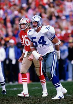 Randy White (DT) Cowboys - First Year: 1975 - 11 seasons - Drafted: Round 1, Pick 2