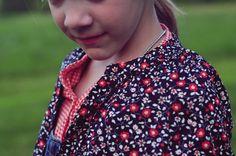 OshKosh florals button downs #OshKoshFirstDay