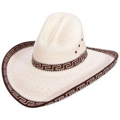 58158777953e2 Sahuayo Gus Palm Decorated Cowboy Hat