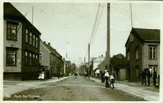Tromsø Storgaten tidlig 1900-tall Utg Mittet
