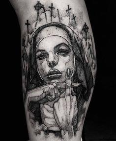 Tattoo leg line sleeve 53 ideas #入れ墨 Trendy Tattoos, Black Tattoos, Small Tattoos, Black Work Tattoo, Feminine Tattoos, Hai Tattoos, Body Art Tattoos, Tatoos, Badass Tattoos