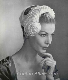 vintage hats | Vintage Hats - 1957