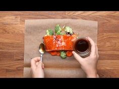 Parchment Baked Salmon 4 Ways - YouTube