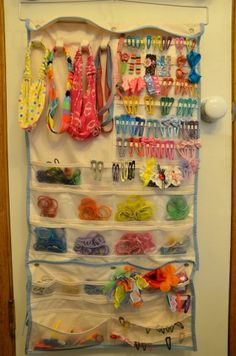 This is awesome! If you have a girl who loves hair accessories this is the solution.