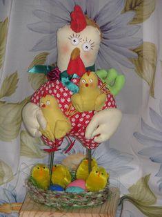 "Мастер-класс: ""Пасхальная Курочка с Цыплятами"" - Ярмарка Мастеров - ручная работа, handmade"