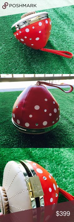 Kate spade mushroom purse   New with dust bag and box kate spade Bags Clutches & Wristlets