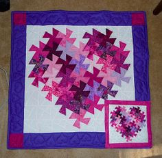twister quilt | ... for making a twister heart, and it was just the thing I needed
