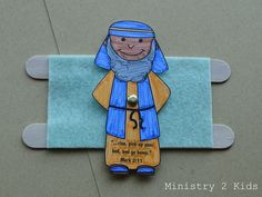from Ministry 2 Kids Jesus Crafts, Bible Story Crafts, Bible Crafts For Kids, Man Crafts, Preschool Bible, Bible Stories, Kids Bible, Bible Activities, Sunday School Crafts For Kids