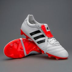 a8b6b05e75 Adidas GLORO 15.1 FG - WHITE CORE BLACK SOLAR RED