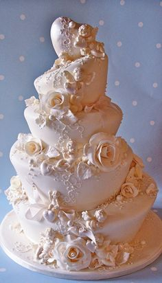 cherubs wedding cake