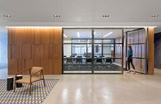 Cambridge Associates' San Francisco office combines the spaciousness and light of a modern collaborative environment with timeless architectural symbols.