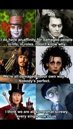 So many roles, all played to perfection.