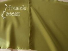Thank you, I was trying to figure out how to make a French seam.  Yours was the most understandable.