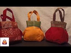Diy Handbag, Diy Purse, How To Make Samosas, Coconut Shell Crafts, Indian Art Paintings, Fabric Purses, Leftover Fabric, Handmade Purses, Bag Design